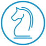 Strategy Horse Icon