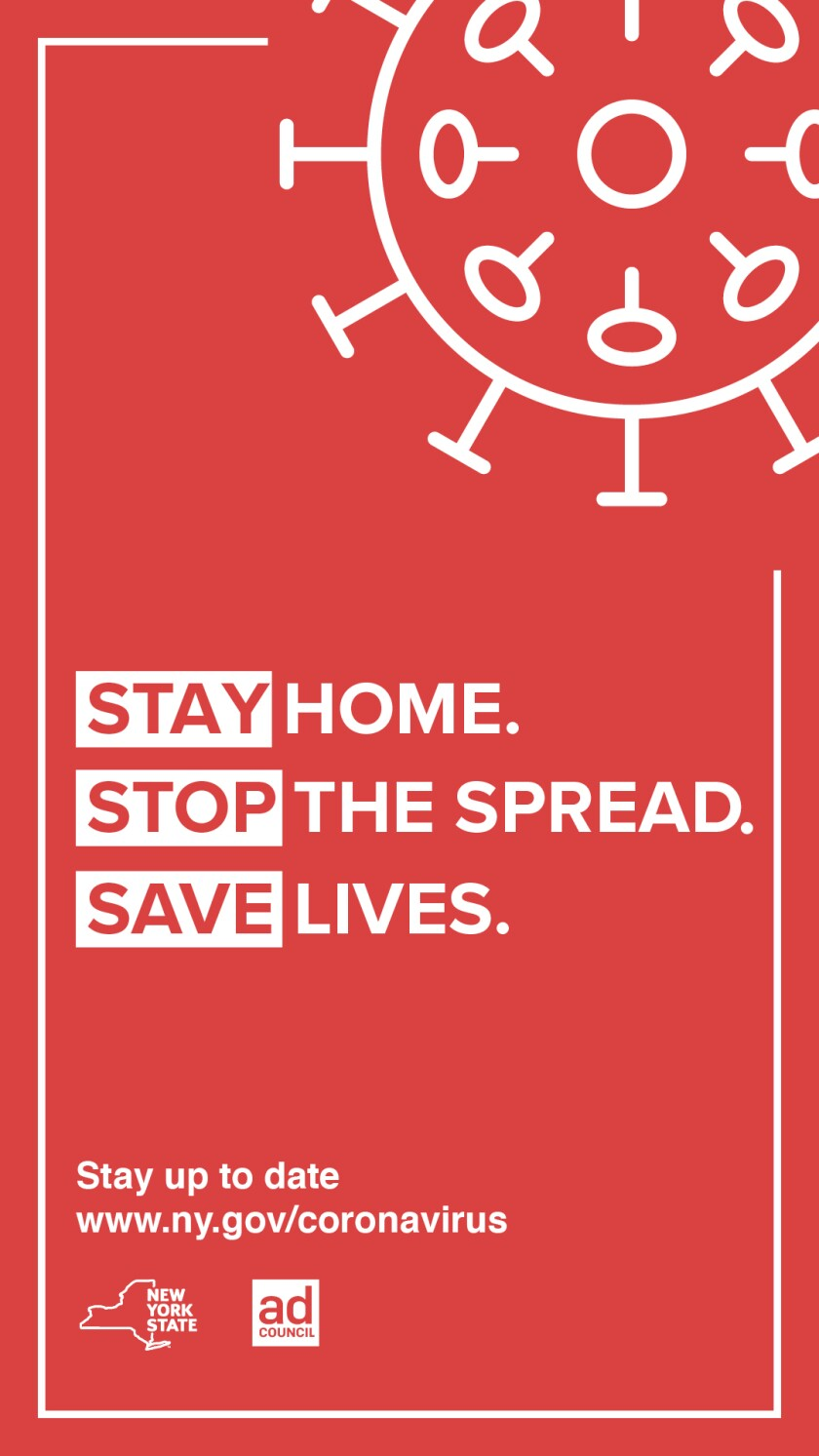 Stay. Stop. Save. - NY