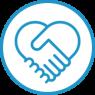 Cause Handshake Icon