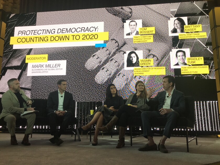 Protecting Democracy panel